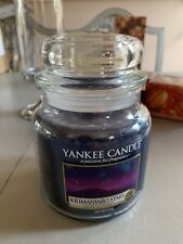 "Yankee Candle ""Kilimanjaro Stars""  Medium Jar ~ Retired scent 2017 /18"