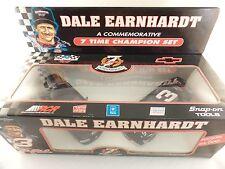 New 1995 1:25 Brookfield NASCAR Dale Earnhardt Sr 7 Time Champion Lumina Set