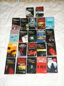 Lot de 22 livres MICHAEL CONNELLY