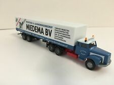 "Epoche 12600 LKW Scania Koffersattelzug ""Miedema"" (NL) Neu / OVP"