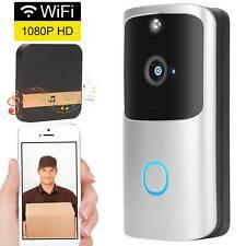 1080P Wireless Smart Door Bell Camera Security Night Vision Wifi Intercom PIR