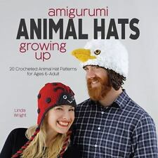Amigurumi Animal Hats Growing Up : 20 Crocheted Animal Hat Patterns for Ages ...
