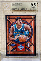 2012-13 Anthony Davis Innovation Stained Glass Rookie BGS 9.5 RARE POP 10