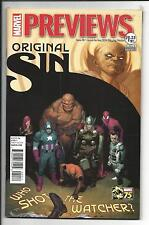 MARVEL PREVIEWS # 20 (ORIGINAL SIN, MARCH FOR MAY 2014), NEW