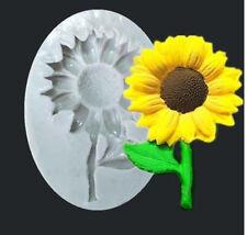 Sunflower Silicone Fondant Mold Cake Sugarcraft Decorating Chocolate Mould UK