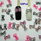 Nail Art 3d 50 Mix Print BOW /RHInESTONE For Nails, CellPhones HY