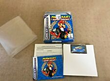 Mario Kart Super Circuit Gameboy Advance GBA Boxed with manual AU Release