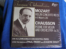 Jacques Thbaud-Paul Paray/Mozart-Chausson/Turnabout TV 4257/SEALED NEW OLD STOCK