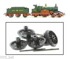 New Genuine Hornby X9652 Lord of the Isles R2560 Train Tender Wheels & Axles Set