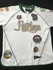 Harlem Globe Trotters Shirt-1/4 Zip Up Sz.8-10-Fubu Platinum/Warm Up-Polyester