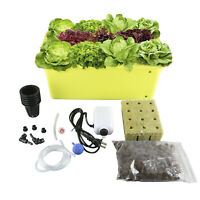 8 Holes Plant Site Hydroponic System Grow Kit,Best Indoor Herb Garden W/ Manual