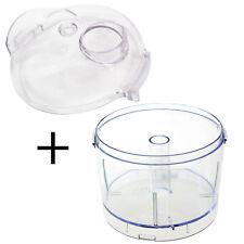 KENWOOD CH180 CH180A CH186A Mini Food Processor Chopper Bowl + Chute Lid 350ml