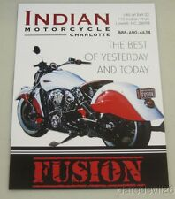2016 Indian Motorcycles Scout Fusion Daytona Bike Week info card