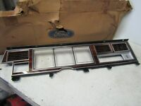 80 1981 FORD LINCOLN MARK DASH INSTRUMENT CLUSTER BEZEL WOODGRAIN NOS