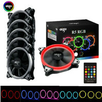 R5PRO LED Cooling Fan RGB 120mm Brushless Cooler For Gaming Computer Case PC CPU