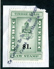 Used Quebec Law Stamp #QL115 (Lot #13617)
