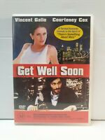 Get Well Soon DVD Vincent Gallo Courteney Cox Jeffrey Tambor