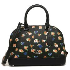 Coach * Mini Sierra Crossbody Satchel Bag Tea Rose Floral Print COD Pay