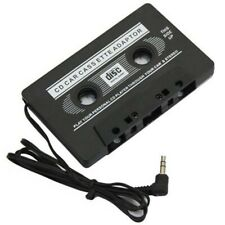Adaptador de Cassette MP3 Cinta Reproductor para la Radio del Coche AUX CD Jack