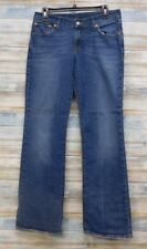 Lucky Brand Jeans 8 x 32 Women's Mid rise Flare Stretch      (G-27)