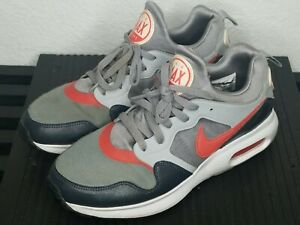 Nike Mens Air Max Prime Size 8.5 Red Cool Gray  Sneakers Shoes 876068-003 2017