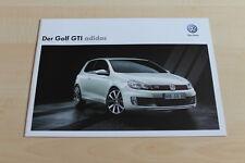99081) VW Golf GTI adidas Prospekt 05/2012