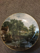 The Hay Wain Plate - The John Constable Collection, Crown Staffordshire Vintage