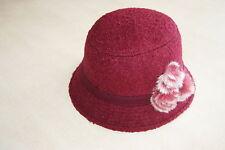 Chapeau bordeaux neuf 56 cm marque CATCH ME