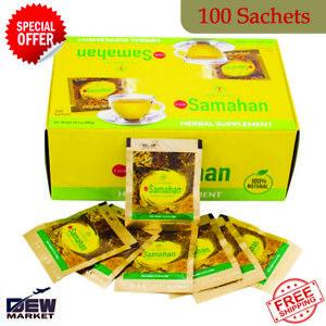 Link Samahan Ayurveda 100% Natural Herbal Tea 100 Sachet for Cough & Cold Remedy