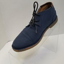 Kenneth Cole Real Deal Chukka Boots Navy Youth Size 3