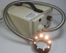 Fostec Schott Microscope Illuminator  with Ring Light  Ace I EKE   #1