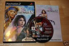 Final Fantasy X-2 PS2 Complete Black Label Squaresoft Square Enix