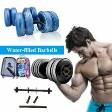 Fitness Water-filled Dumbbell Workout Exercise Bodybuild Training Arm Muscle
