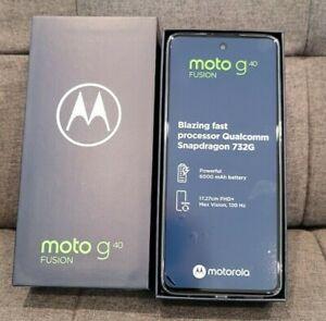 PREVIOUSLY DISASSEMBLED MOTOROLA G40 Fusion 64GB 4GB Dual SIM Unlocked