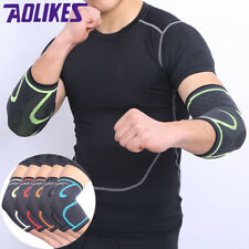 Elbow Sleeve Support Brace Compression Training Gym Arm Exercise Lifting Guard