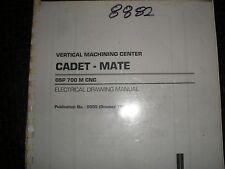 Okuma Cadet-Mate Vmc With Osp700M Control Electrical Drawing Manual