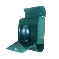 Mailbox Wall Mounted Mailsafe Mail box Cam Lock Access Door Keys Green Finish