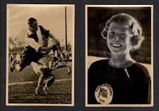 OLYMPIA 1936 - Band I - Set of 2 Original Olympic Cards - Sport Scenes - #21