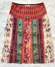 VIVIENNE TAM Chinese Floral Painting Carwash Skirt 1