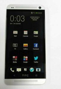 HTC ONE M7 32GB, 2GB RAM SINGLE SIM UNLOCKED SMARTPHONE (Silver)