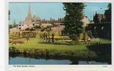 THE ROSE GARDEN, FORRES: Morayshire postcard (C21092)