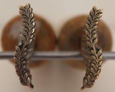 Paire de Fers à Dorer Fleuron modèle Fanfare XVIIe s. Bronze Reliure Dorure #22