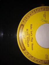 Elvis Presley - Baby Let's Play House/ I'm Left 45   Sun records 217   ORIGINAL