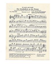 Noten für Blasmusik * Mister Twist * Der Mondschein an der Donau