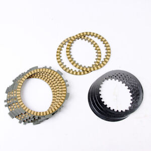 For Yamaha TMAX 500 XP500 Engine Parts Clutch Friction Disc Steel Plate Kit