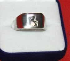 Colt Firearms Rampant Colt Stainless Steel Ring Size 10