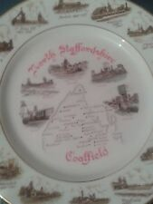 Staffordshire Coalfields Collector's Decorative Plate
