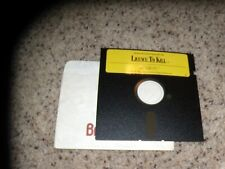 """Licence to Kill Commodore 64/128 C64 Mint Game 5.25"""" disk"""