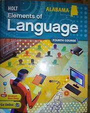Elements of Language Alabama Student Ed 4th Course Grade 10 2009 9780554019666
