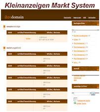 Kleinanzeigen Markt System - PHP-Script